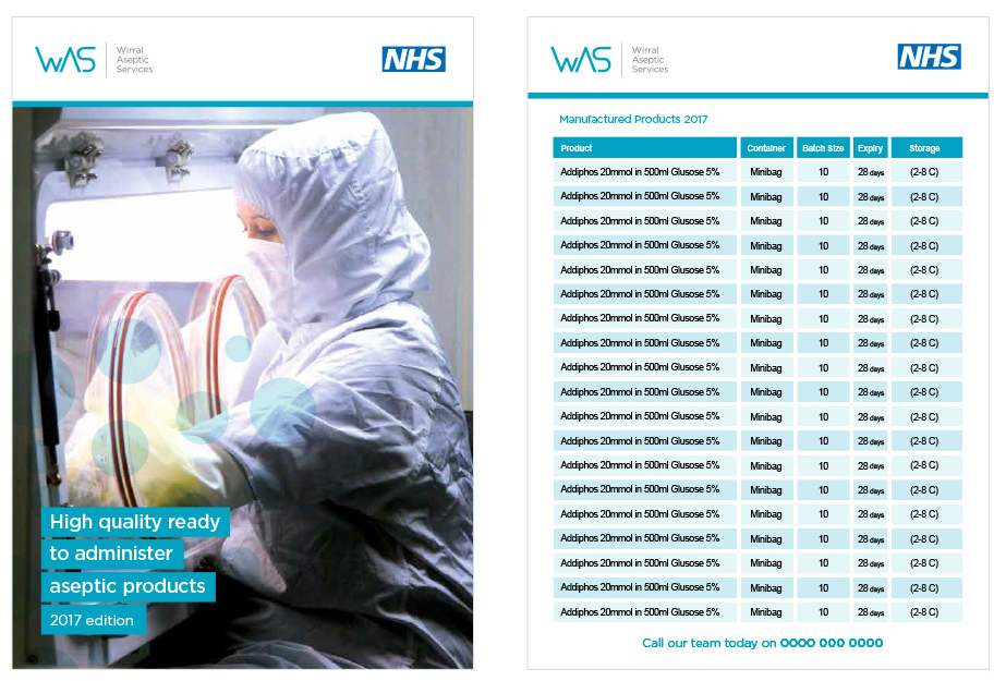 WIRRAL UNIVERSITY TEACHING HOSPITALS NHS FOUNDATION TRUST ASEPTIC SERVICES